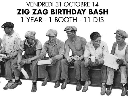 Gagnez 3×2 places pour le premier anniversaire du Zig Zag Club le 31 octobre