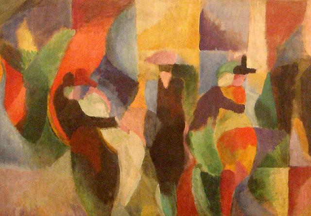 MAM : Superbe rétrospective Sonia Delaunay qui permet de voir tous les supports de son art