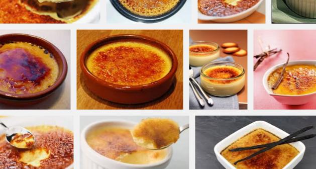 [La recette de Claude] Crème brûlée à la chicorée