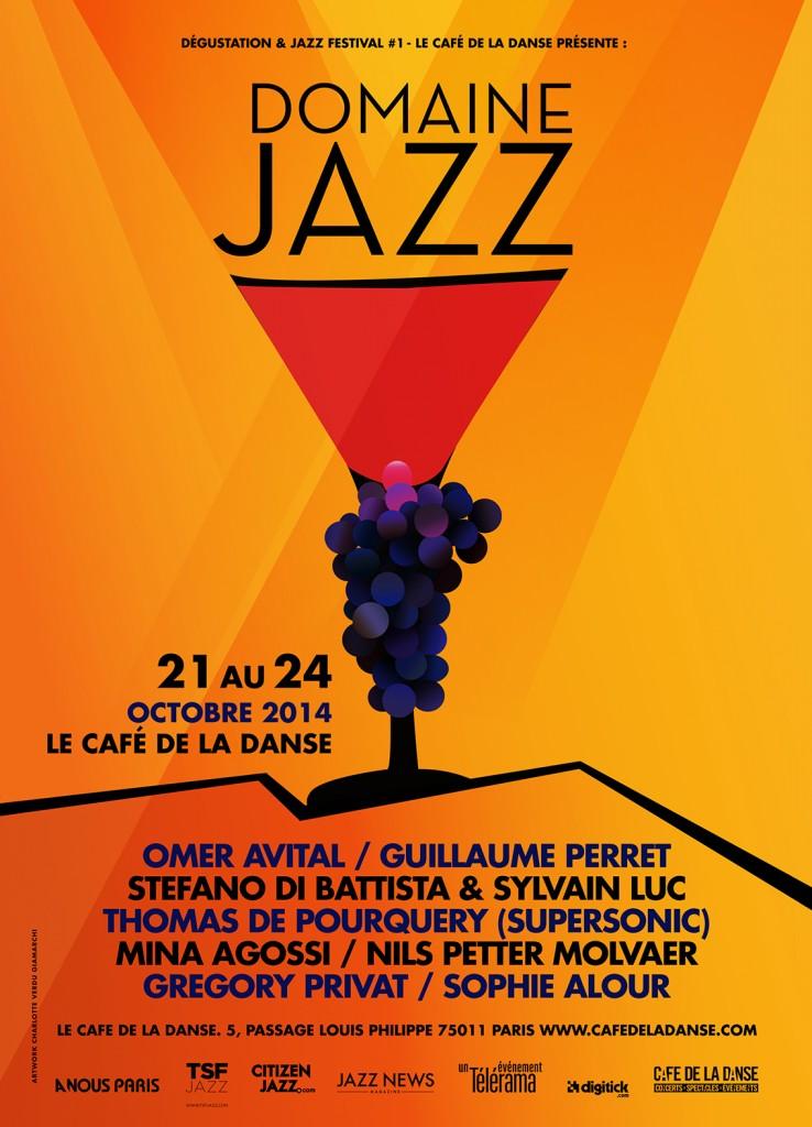 Guillaume Perret et Stefano di Battista & Sylvain Luc dans le cadre du festival Domaine Jazz