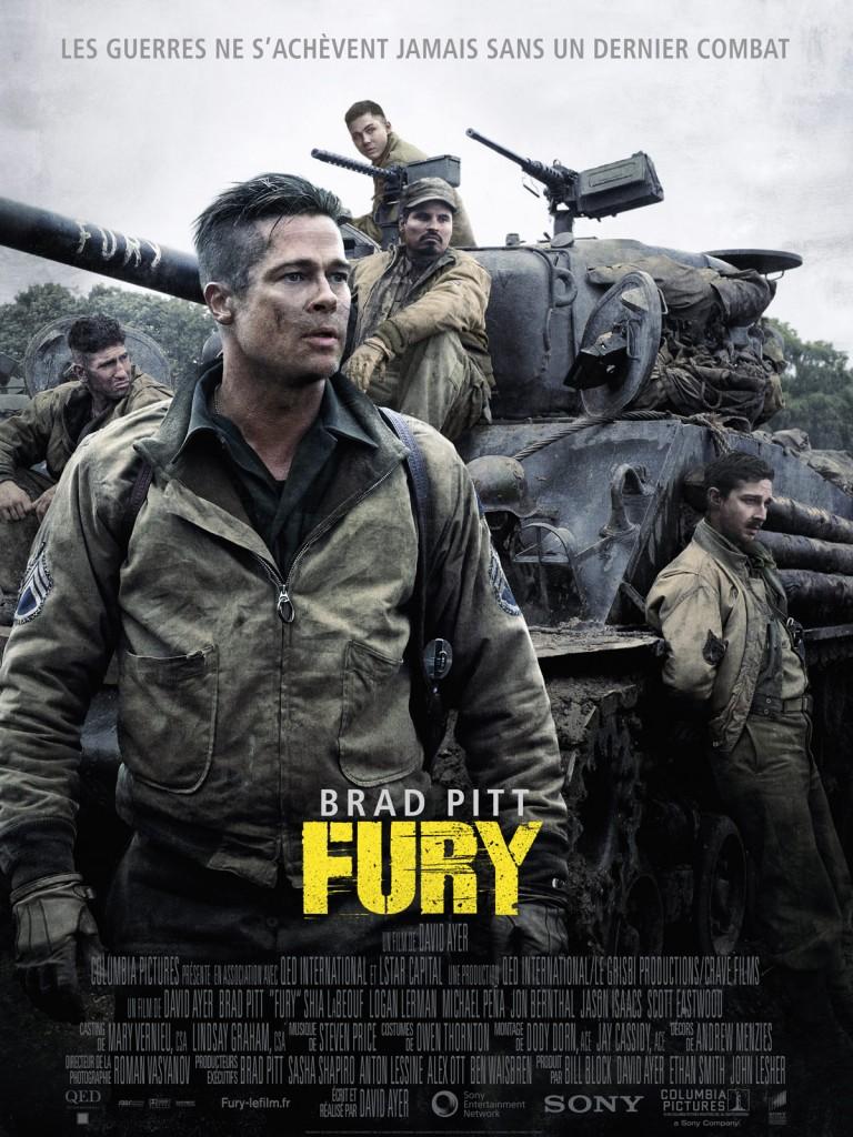 [Critique] « Fury » Brad Pitt et Shia Labeouf dans un film de guerre intimiste, puissant et désabusé