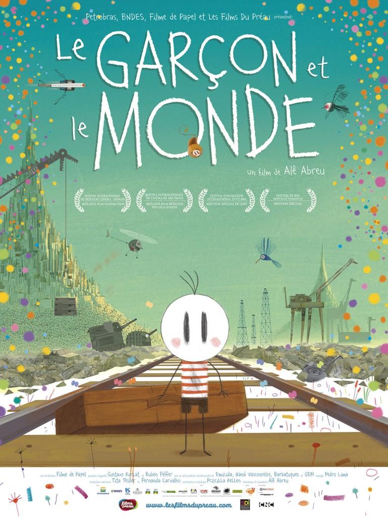 [Critique] « Le garçon et le monde » étonnant film animé brésilien. Un vrai choc graphique