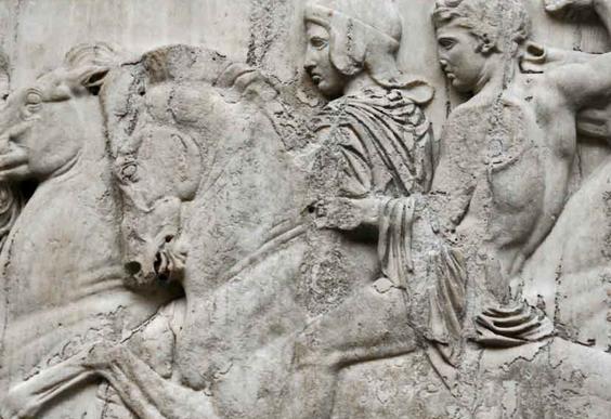 La Grèce réclame les frises de son Parthénon