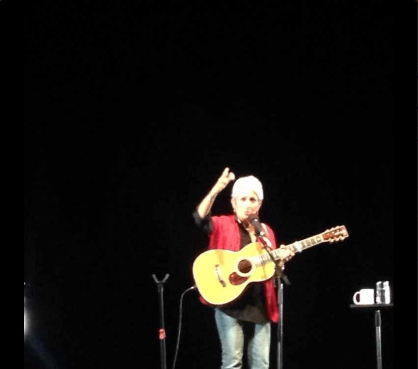 [Live-report] Joan Baez forever young à l'Olympia