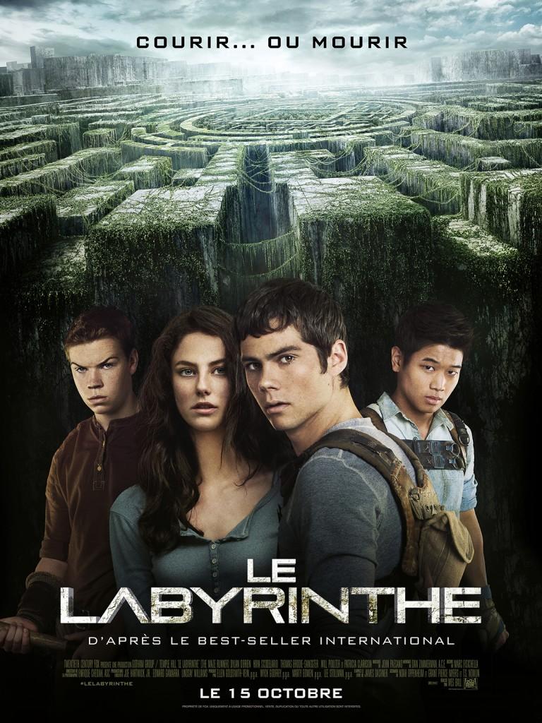 Box-office: Le Labyrinthe toujours en tête devant Samba au top 10 des entrées France de la semaine
