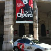 opéra de rue à Brescia