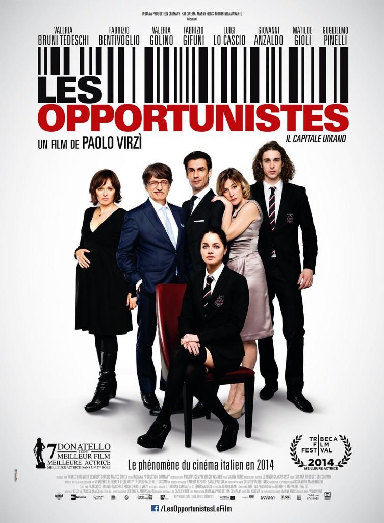 Gagnez 10×2 places pour le film « Les Opportunistes » de Paolo Virzi