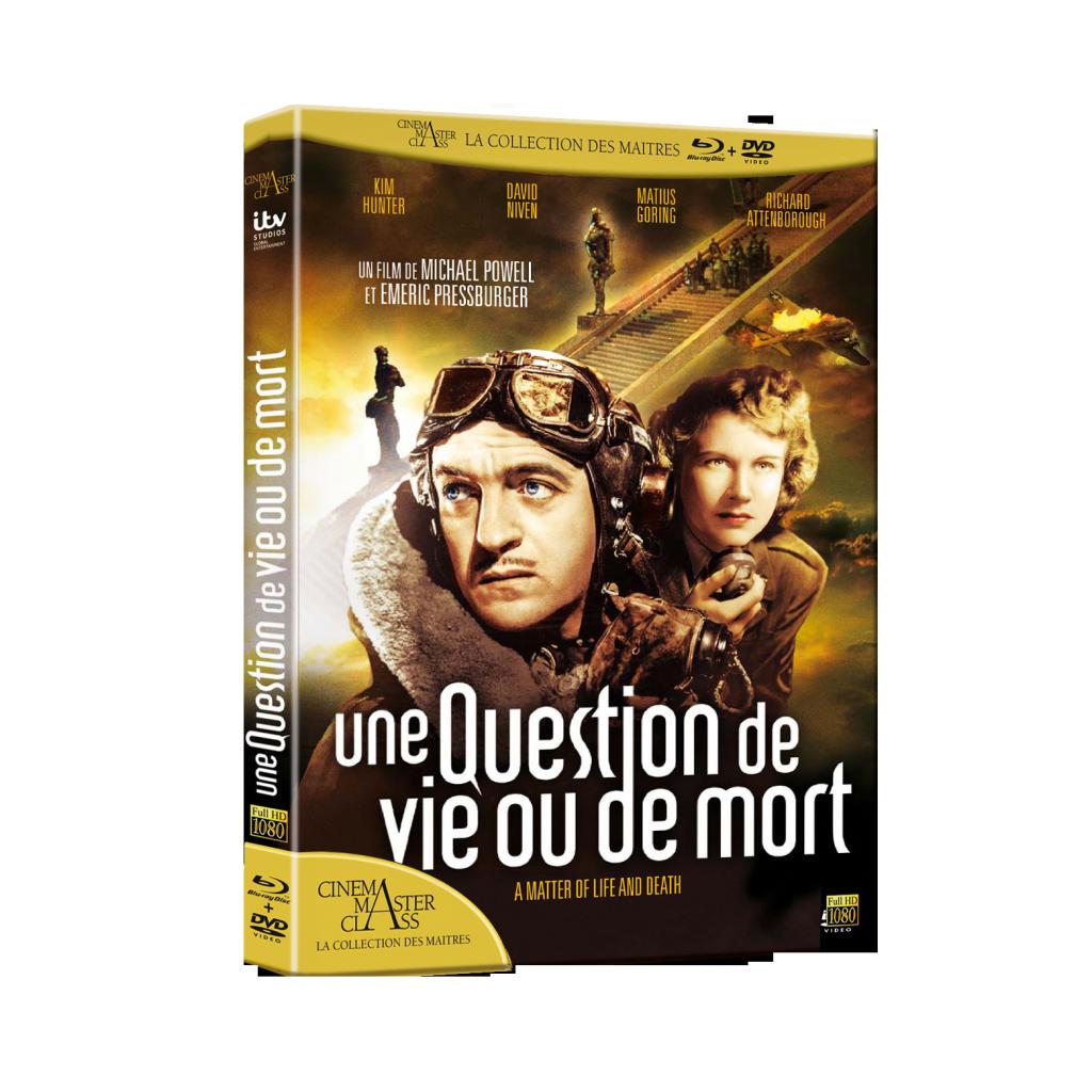 Gagnez 3 DVD-Blue-Ray d'« Une Question de vie ou de mort » de Michael Powell