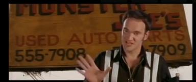 Tarantino révèle des scènes inédites de Pulp Fiction
