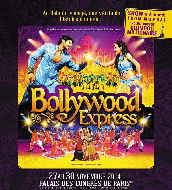 Les rythmes de Bollywood enthousiasment Paris!