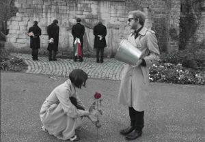 À la Loge, dans « Gli Eredi », Tchekhov nous raconte Pasolini. Un spectacle riche