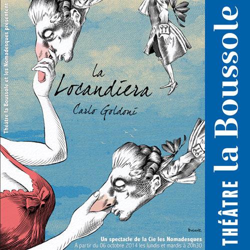 Gagnez 5×2 places pour la pièce « La Locandiera » au Théâtre La Boussole