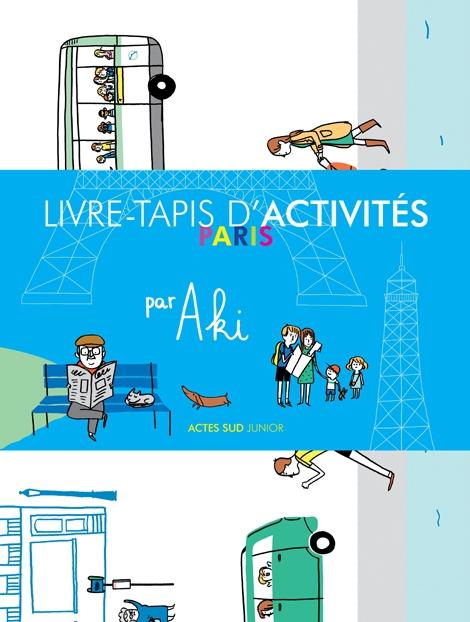 «Paris», le Livre-Tapis par Aki: une aire de jeu créative et amusante