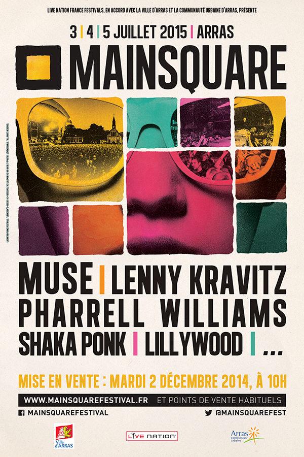 Pour sa 11e édition, le Main Square Festival d'Arras envoie du lourd avec quatre premiers noms révélés !