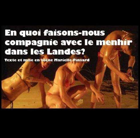 Gagnez 3×2 places pour la pièce « En quoi faisons-nous compagnie avec le Menhir dans les Landes ? » au Théâtre Le Tarmac le 25 novembre