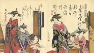 Miroir de la calligraphie des courtisanes