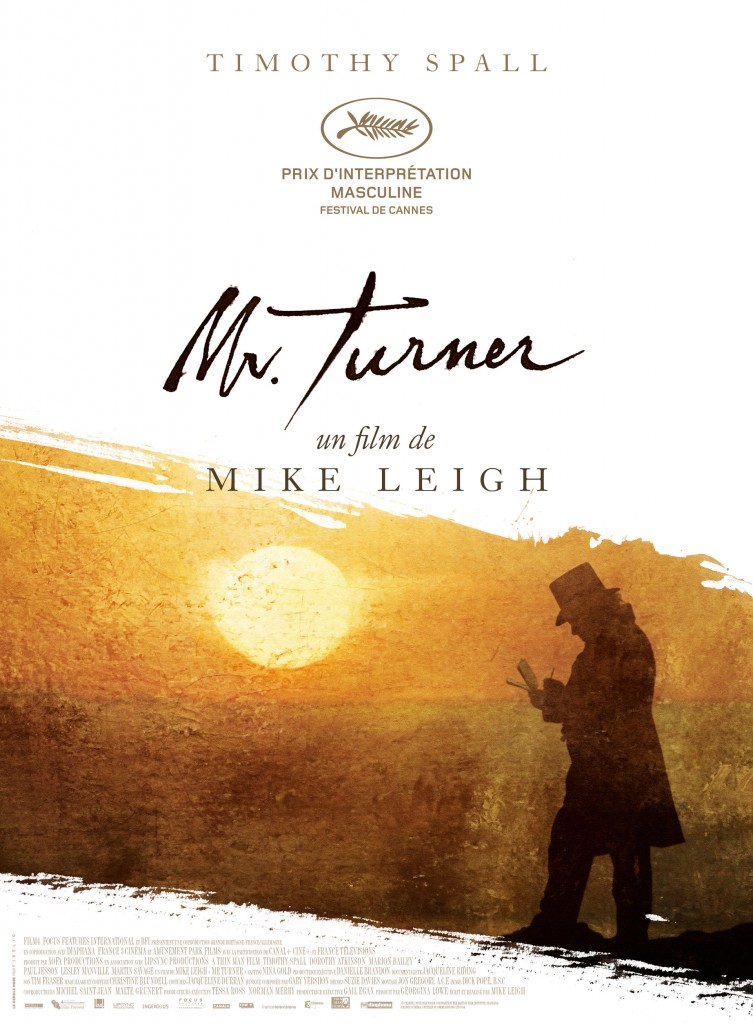 Gagnez 5×2 places pour le film « Mr. Turner » de Mike Leigh