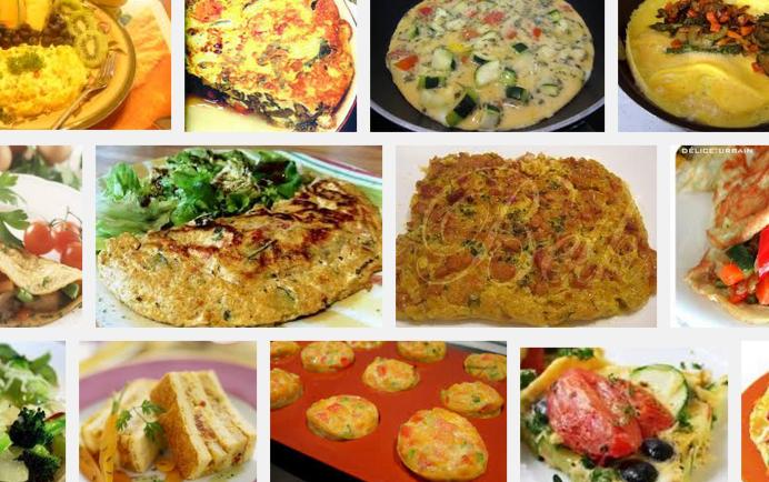 [La recette de Claude] Omelette aux deux légumes