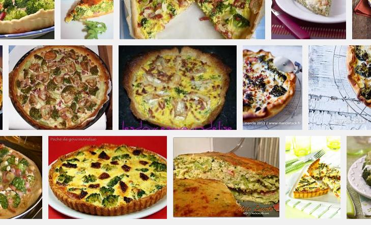 [La recette de Claude] Quiche aux brocolis, au chèvre et au lardons
