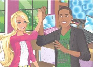 barbie illustration