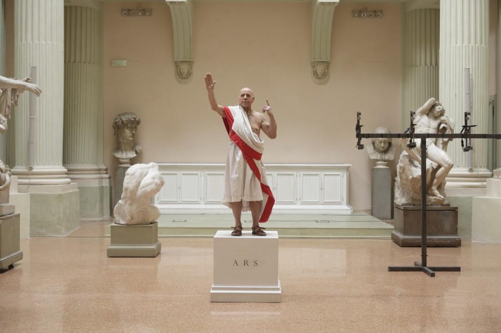 « Giulio Cesare. Pezzi staccati. Dramatic intervention on William Shakespeare » : Castellucci propose une expérience totale de méta-théâtre