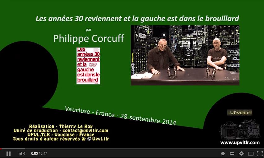 Philippe Corcuff se demande si les années 1930 sont de retour