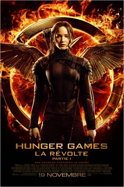 Box-office: Hunger Games 3 La Révolte largement en tête du top 10 des entrées France semaine.