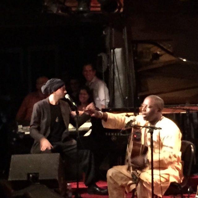 [Live-report] Vieux Farka Touré & Idan Raichel enflamment Jazz'n Klezmer au New Morning (25/11/2014)