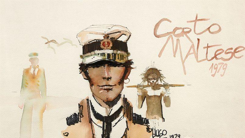 Une aquarelle de Corto Maltese vendue à un prix record