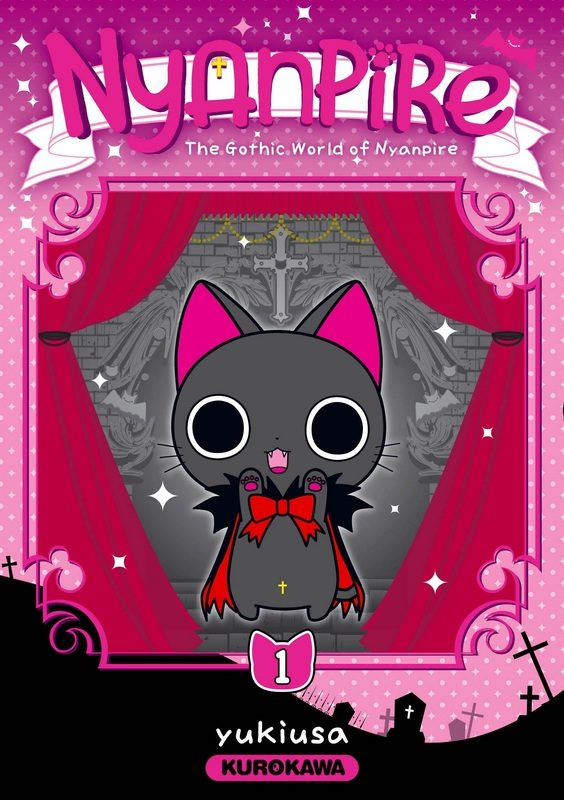 «Nyanpire : The Gothic World of Nyanpire» Tome 1 : Le chat qui va vous croquer