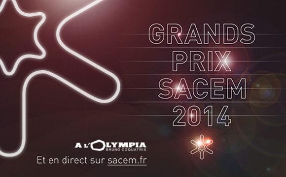 Grands Prix de la SACEM 2014 : c'est pour lundi !