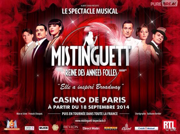 MISTINGUETT, REINE DES ANNEES FOLLES: QUAND TROP D'IMPERFECTIONS TUENT L'EMOTION