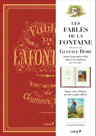 « Les Fables » de La Fontaine illustrées par Gustave Doré