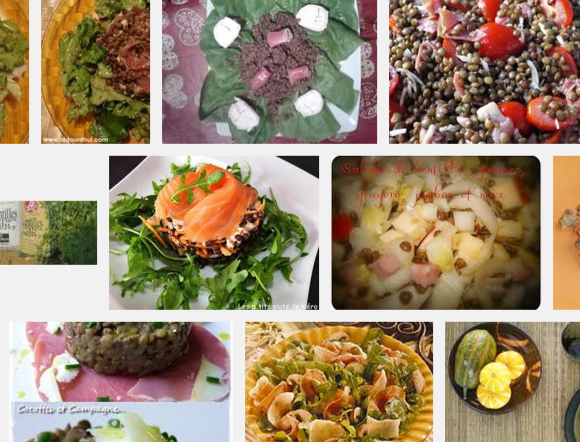 [La recette de Claude] Salade de lentilles au jambon et au chêvre