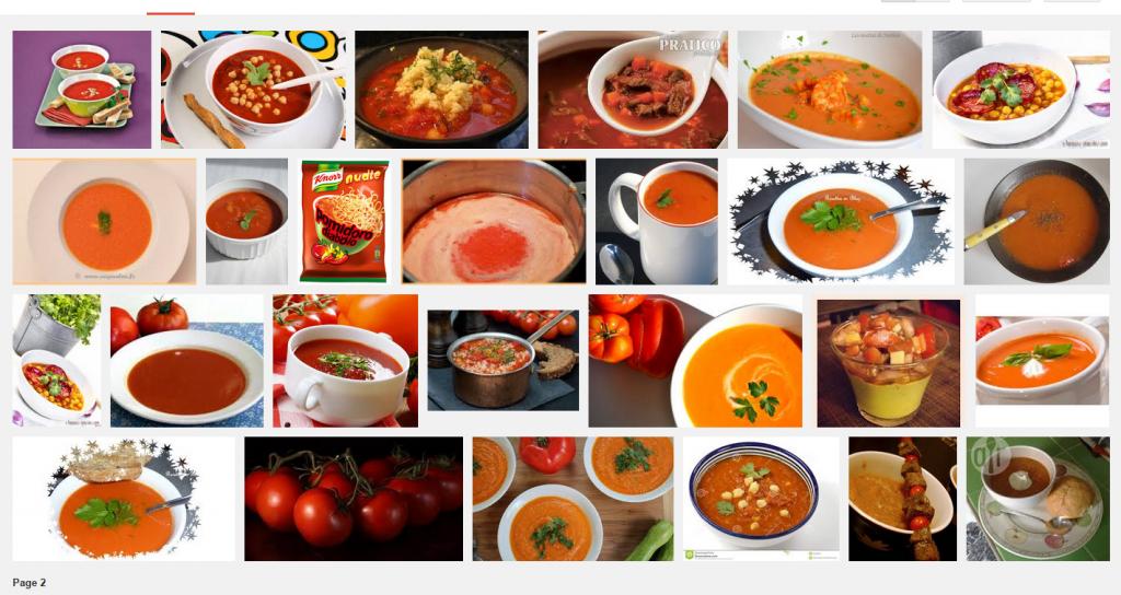 [La recette de Claude] Soupe épicée aux tomates