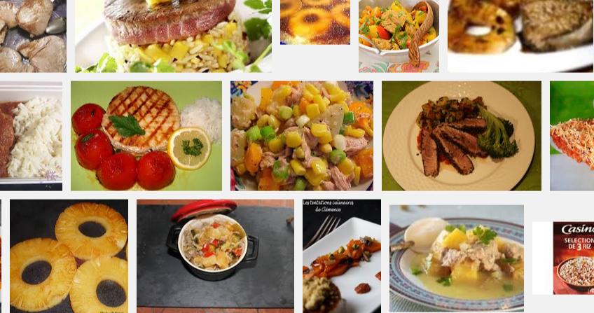 [La recette de Claude] Steak de thon à l'ananas et au riz