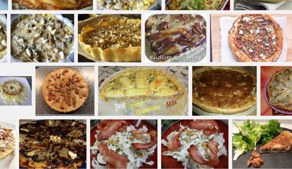[La recette de Claude] Tarte aux endives, roquefort et noix