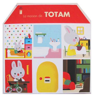 «La maison de Totam» de Xavier Deneux: pour se familiariser avec l'objet livre