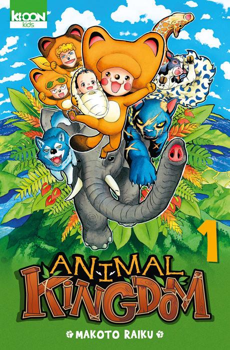 «Animal Kingdom» Tome 1 : le nouveau roi de la jungle