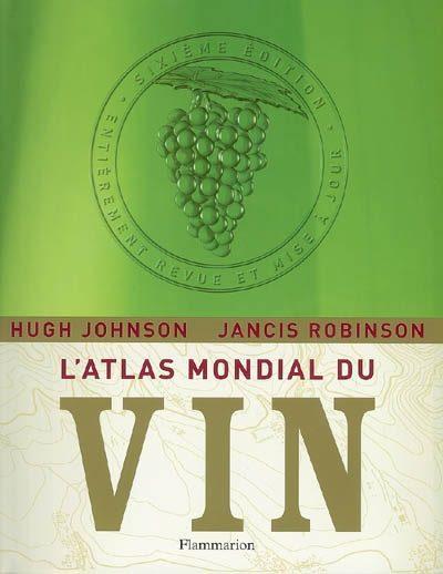 «L'atlas mondial du vin» chez Flammarion