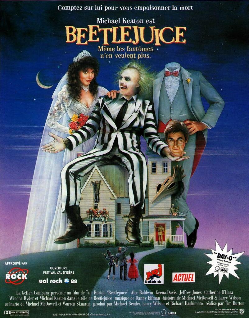 Tim Burton se lance dans BeetleJuice 2