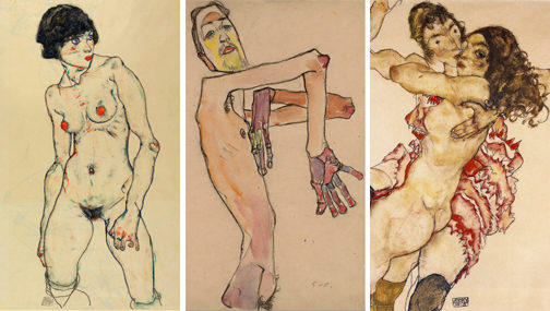 [Londres] Les nus radicaux de Egon Schiele au Courtauld Institute