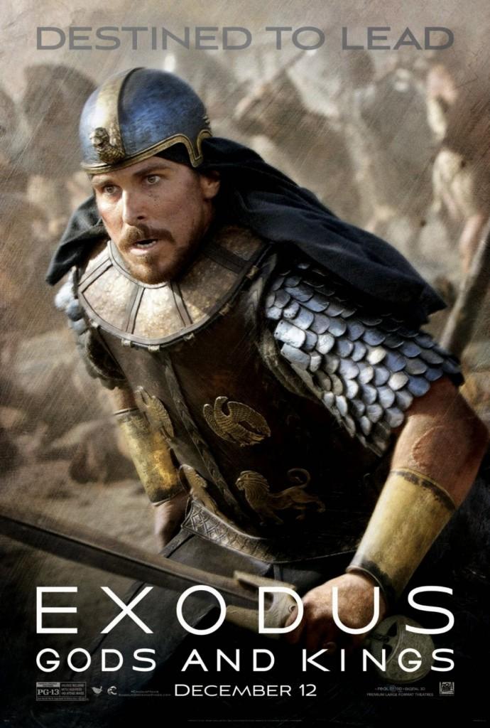 [Critique] « Exodus : Gods and Kings » Grande fresque biblique de Ridley Scott n'égalant pas Gladiator