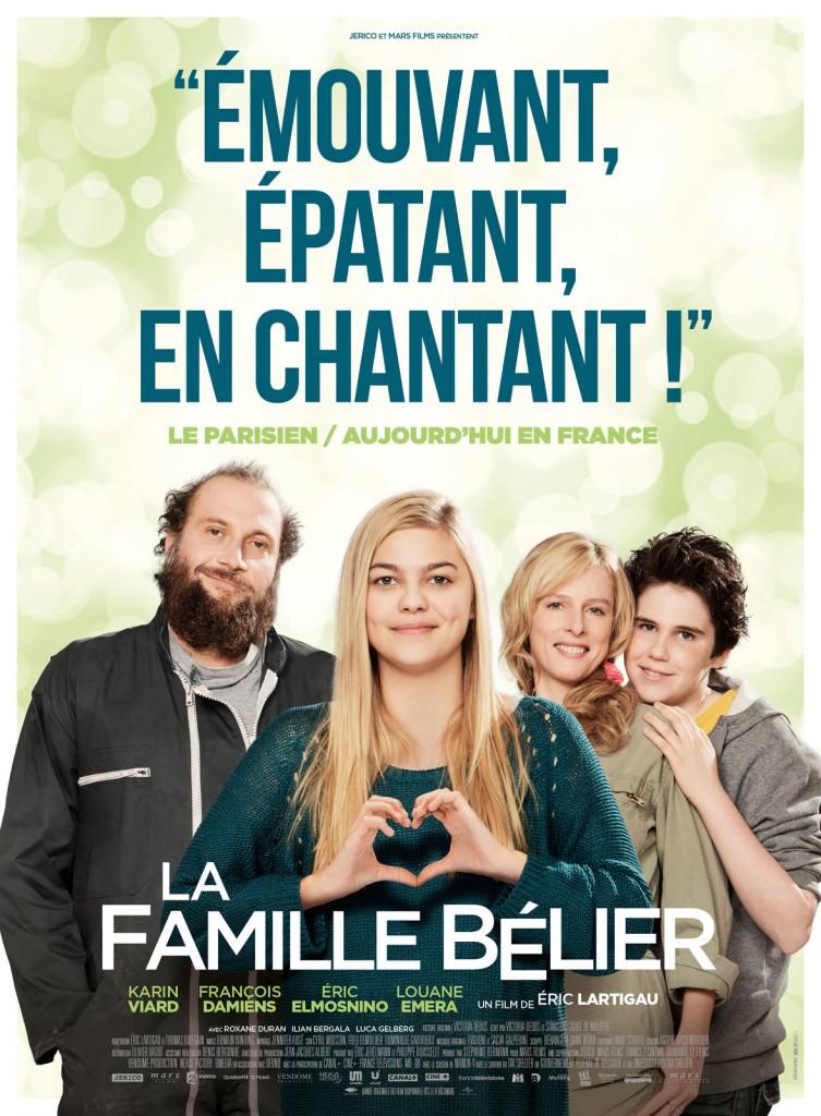 [Critique] « La Famille Bélier » Karin Viard et François Damiens géniaux sauvent une chronique adolescente pataude