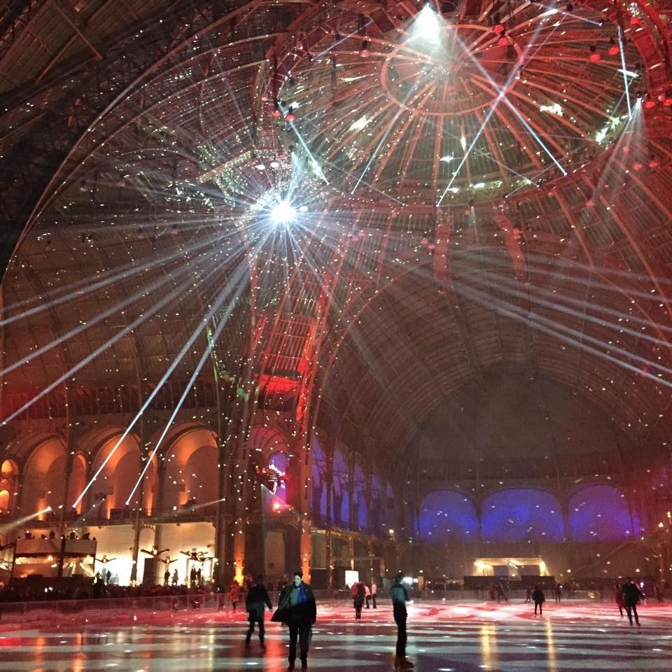 [Live-report] Ouverture du Grand Palais des Glaces : Patin, Dj et volupté (15/12/2014)