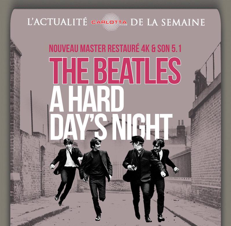 Sortie dvd : «A hard day's night», l'increvable fraîcheur des Beatles