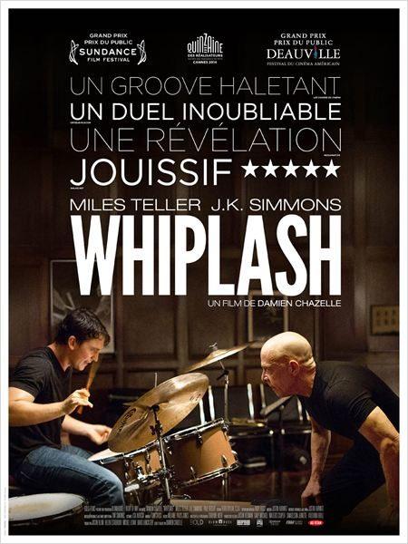 DVD [Critique] « Whiplash » de Damien Chazelle. Un pur bonheur récompensé par l'Oscar de J.K Simmons