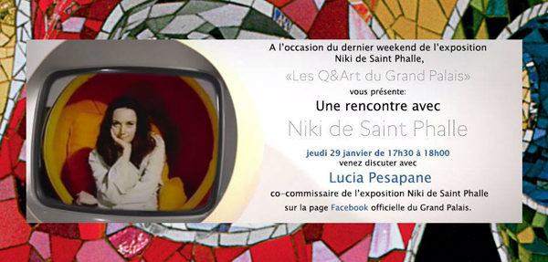 Une rencontre avec Niki de Saint Phalle