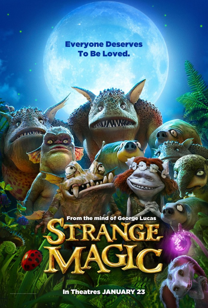 Strange Magic : Le songe d'une nuit d'été de George Lucas