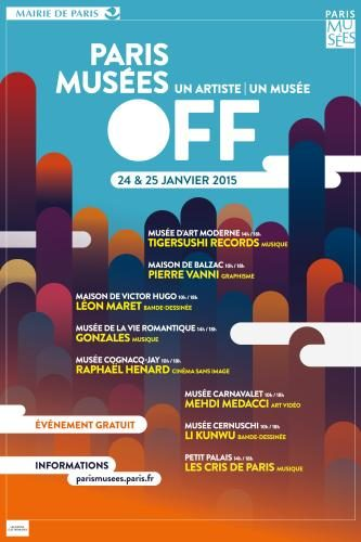 Paris Musée Off : musiciens et artistes contemporains investissent 8 musées de la ville